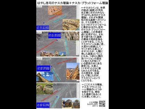 01177【O】 Video Guide 【O】 Hiroshi Hayashi's Nazca Theory+Platform Theoryはやし浩司のナスカ理論とプラットフォーム理論by Hiro