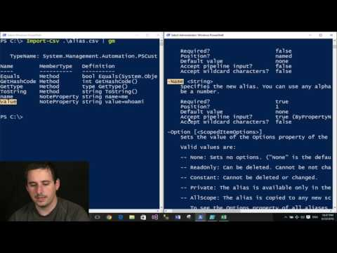 PowerShell Pipeline Parameter Binding ByPropertyName : PSB E09