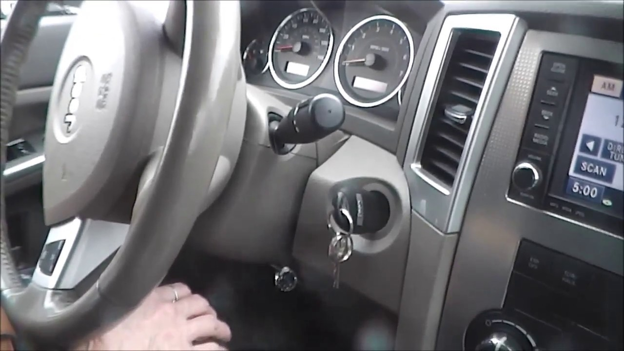 Jeep Grand Cherokee Ignition Switch Key Problem Recall Solution