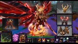 Dota 2 Legion Commander Mix Set Arcana/Legacy of the Fallen Legion/Daemonfell Flame
