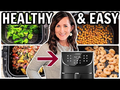 10 HEALTHY Air Fryer Recipes that are EASY AND Yummy!