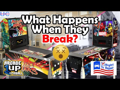 Is There a Reliability Issue with Arcade1up Pinball? We Need Availability on these Proprietary Parts from Unqualified Critics