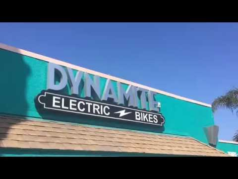 Dynamite Electric Bike Ride on the San Luis Rey Trail Oceanside, California