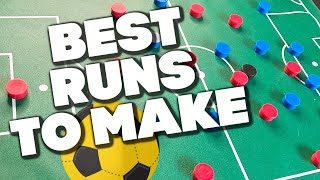 Soccer Tips | Best Forward Runs In Soccer Without The Ball