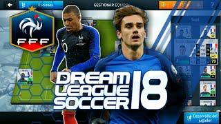 Plantilla de Francia 2018 para Dream League Soccer 18