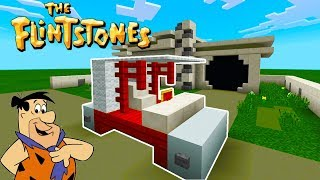 "Minecraft: How To Make The Flintstones Car ""The Flintstones"""