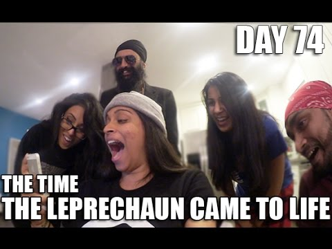 The Time The Leprechaun Came To Life (Day 74)