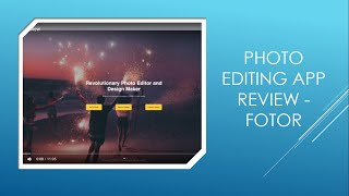 Fotor App Review