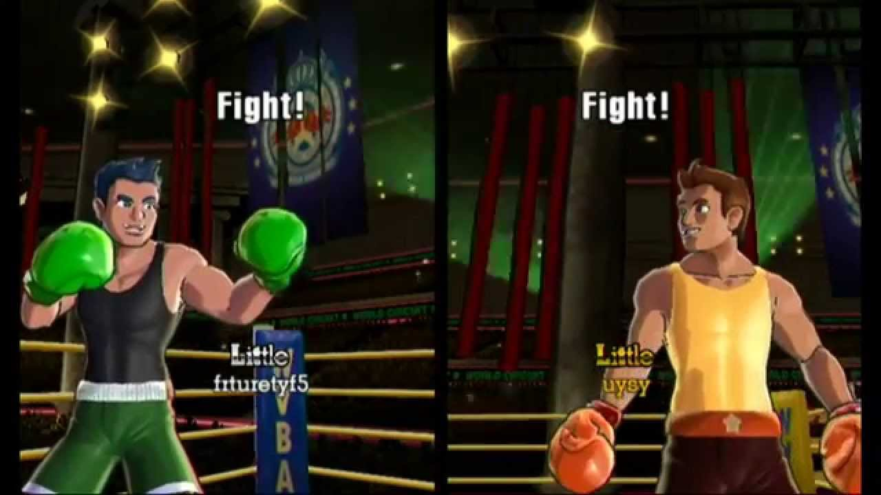 punch out wii head to head battle youtube