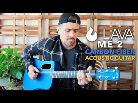 Lava Me 2 Acoustic Guitar - I Didn't Expect A CARBON FIBER Guitar To Sound Like THIS!