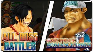 One Piece Romance Dawn All Bosses