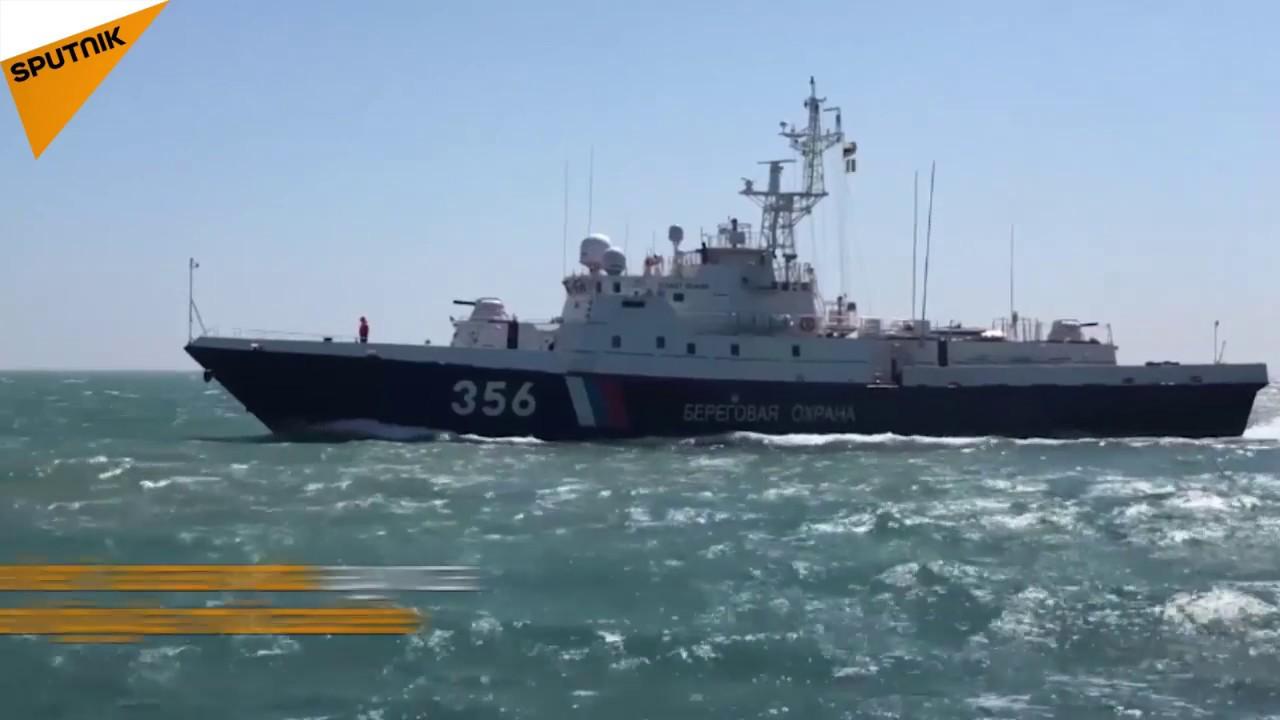 Kırım Köprüsü'nü koruyan gemiler halkın ziyaretine açıldı