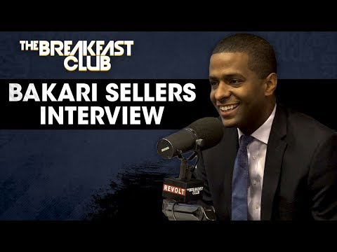 Bakari Sellers Talks 2020 Candidates