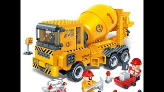 Cement Mixer Trucks, Toys For Kids