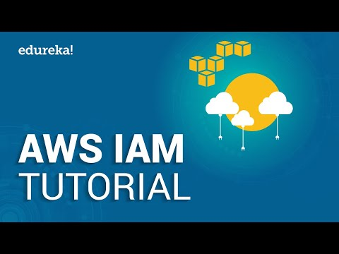 AWS IAM Tutorial  Identity And Access Management IAM  AWS Training s  Edureka