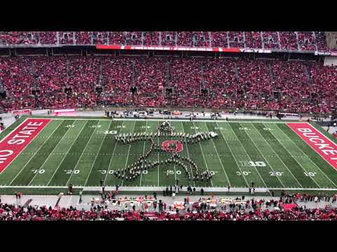 Ohio State Marching Band Holiday Halftime Show