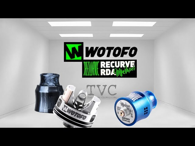 ReCurve RDA - By WoToFo & Designed By Mike Vapes -The Best?