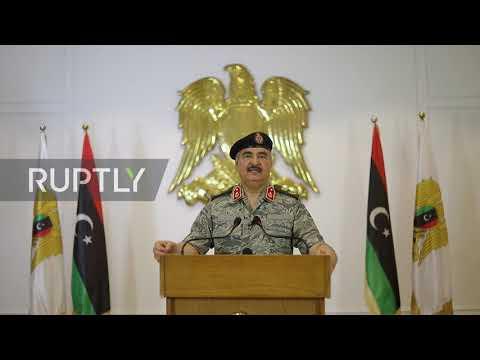 Libya: Haftar declares