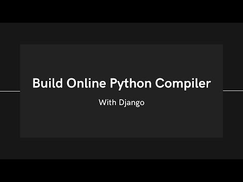 Online Python Compiler