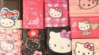 Hello Kitty -обзор  детских кошельков хеллоу китти