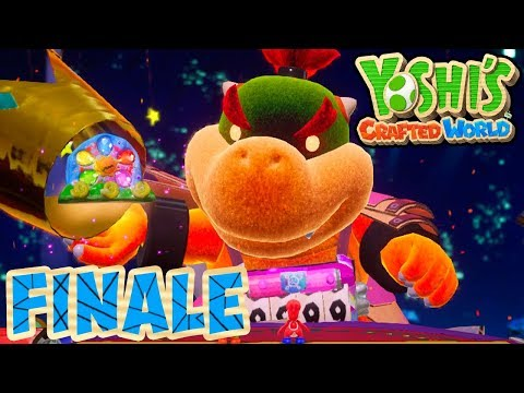 ABM: Yoshi Crafted World !! FINALE Walkthrough!! ᴴᴰ