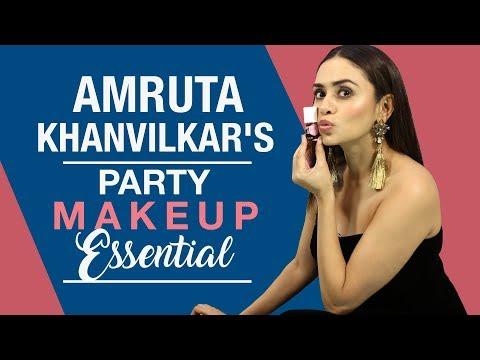 Amruta Khanvilkar: What's in my makeup bag | S01E08 | Fashion | Pinkvilla
