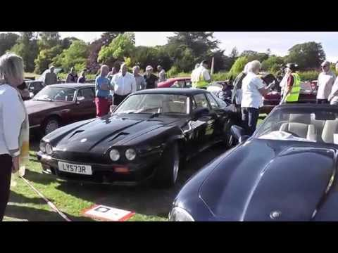 Jaguar Enthusiasts Club meet at Bodelwyddan Castle