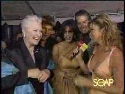 Bobbie Eakes and her B&B colleagues at 2005 Emmys