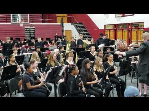 Tates creek high school concert band winter concert 2018