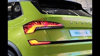 Awesome NEW Skoda SUV 2019 The Skoda Polar Vision X Coming Soon