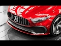 2018 Mercedes Concept A Sedan Drive and Exterior - ALL-NEW A-Class Sedan Concept 2018