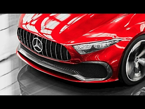 2018 mercedes concept a sedan drive and exterior all new a class sedan concept 2018 youtube. Black Bedroom Furniture Sets. Home Design Ideas
