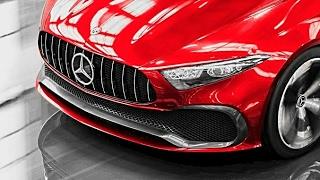 2018 Mercedes Concept A Sedan Drive and Exterior - ALL-NEW A-Class Sedan Concept 2018