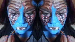 #2Reto Glow body art awards (ilusiones opticas) by OH!PAZTEL