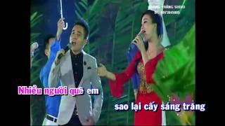 Karaoke Nhớ mãi một miền quê - Huyền Trang ft Phi Hùng