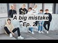 """A big mistake [Bts ff] - Ep 2 """"New roommates"""""""