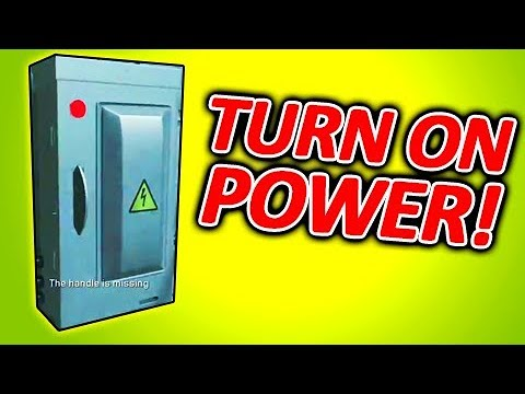 HOW TO TURN ON POWER - Attack of the Radioactive Thing Zombies