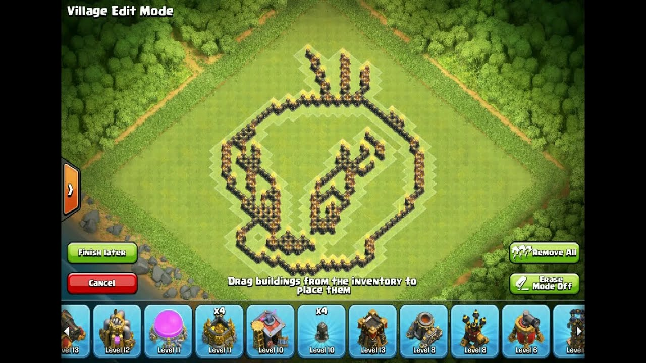 how to make a clan art