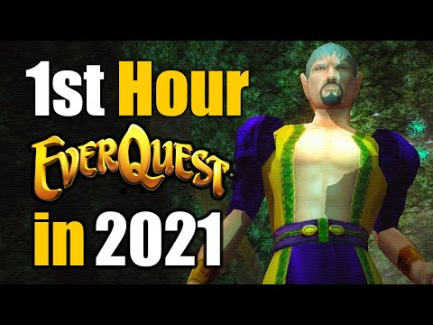 The EVERQUEST Starting Experience in 2021 [Patreon Voted]