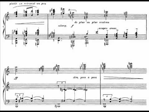 Charles Koechlin - Paysages et Marines Op.63 pour piano (1/2)