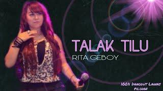 Talak tilu - Rita geboy