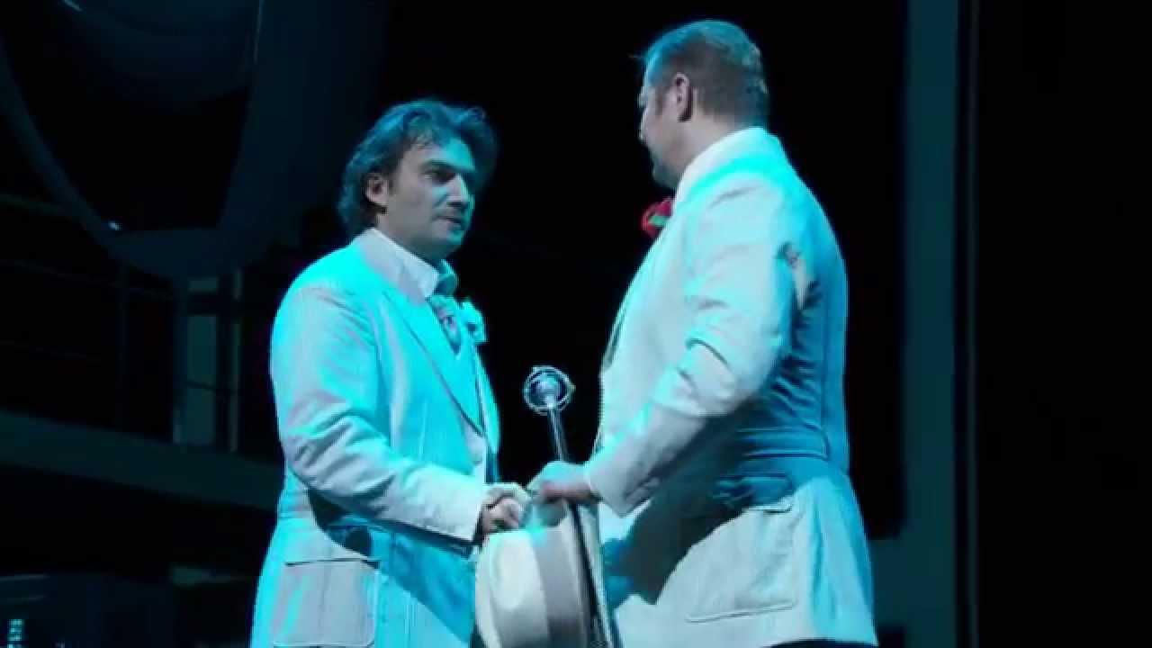 Faust: Prologue excerpt -- Jonas Kaufmann & René Pape (Met Opera)