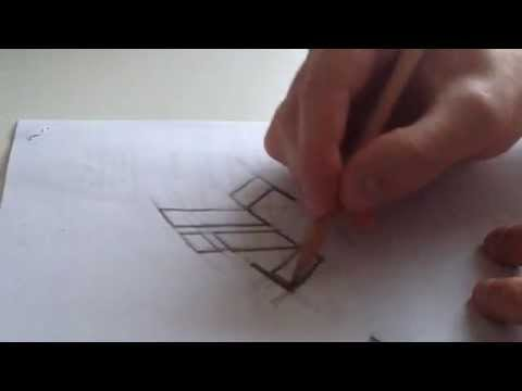 Using a framework to create a simple hand-drawn logo / letterform design.