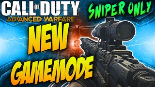 one shot new sniper only gamemode cod aw quick scoping playlist