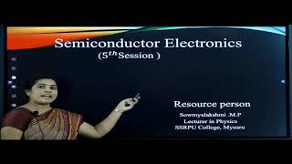 II PUC | PHYSICS | Semiconductor electronics -05