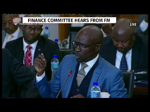 Gigaba appears before parliament's committee on finance