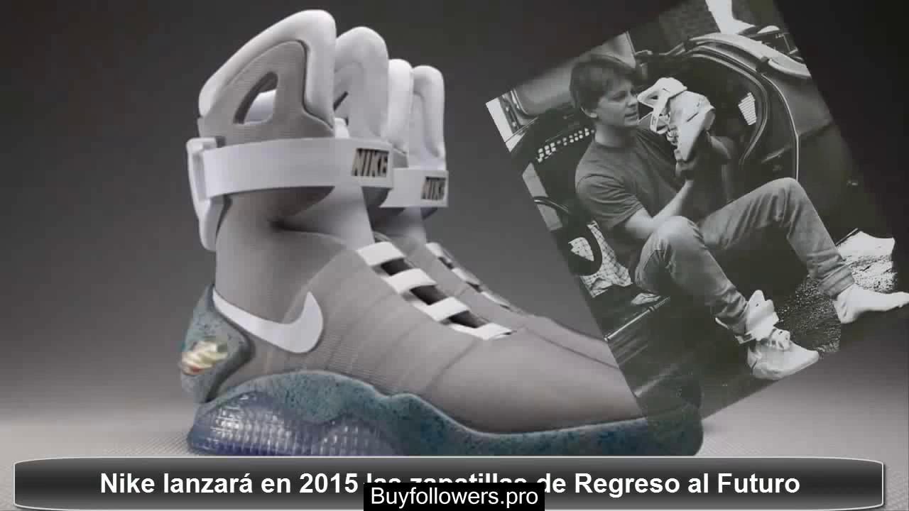 zapatillas regreso al futuro nike