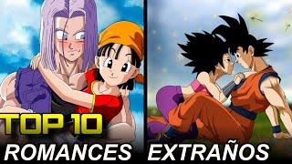 Top 10: Las Parejas Más Extrañas de Dragon Ball que Han Sido Creadas
