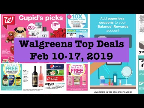 Walgreens Extreme Couponing Top Deals| Feb 10-17, 2019|Cheap
