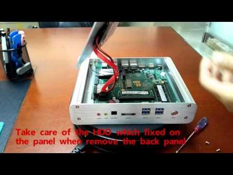 Смотреть Teardown Guide- Fanless Mini PC FMP05B онлайн